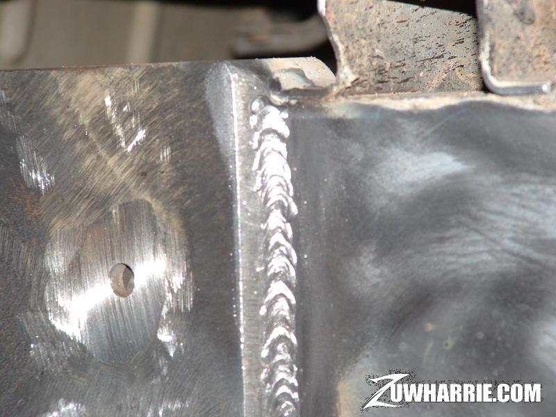 Weld penetration flux something