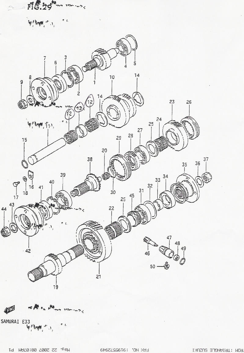 87 suzuki samurai transmission diagram 2002 mercury