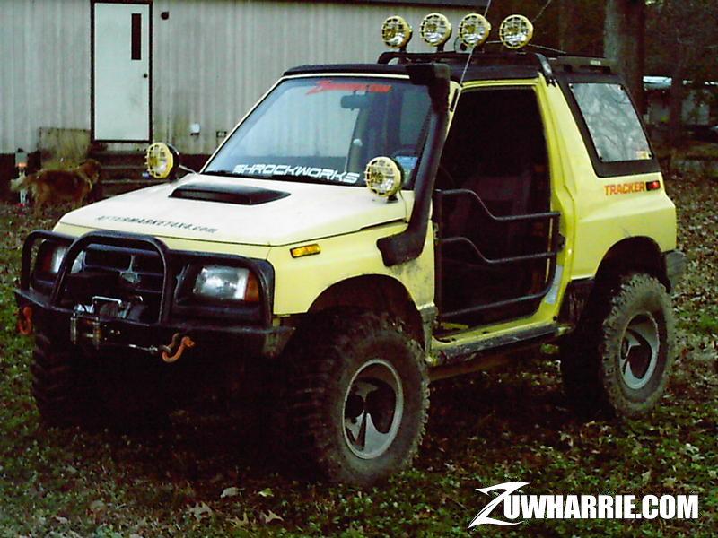 Suzuki Sidekick Tube Doors
