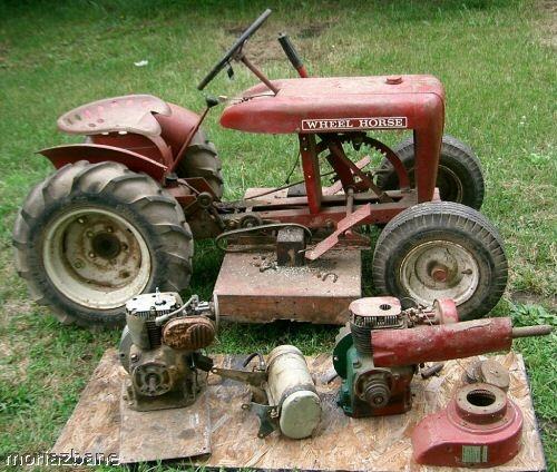 wheel horse lawn tractor wiring diagram