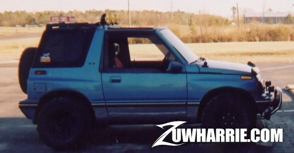 Question Regarding Tire And Wheel Size For 92 Geo Tracker