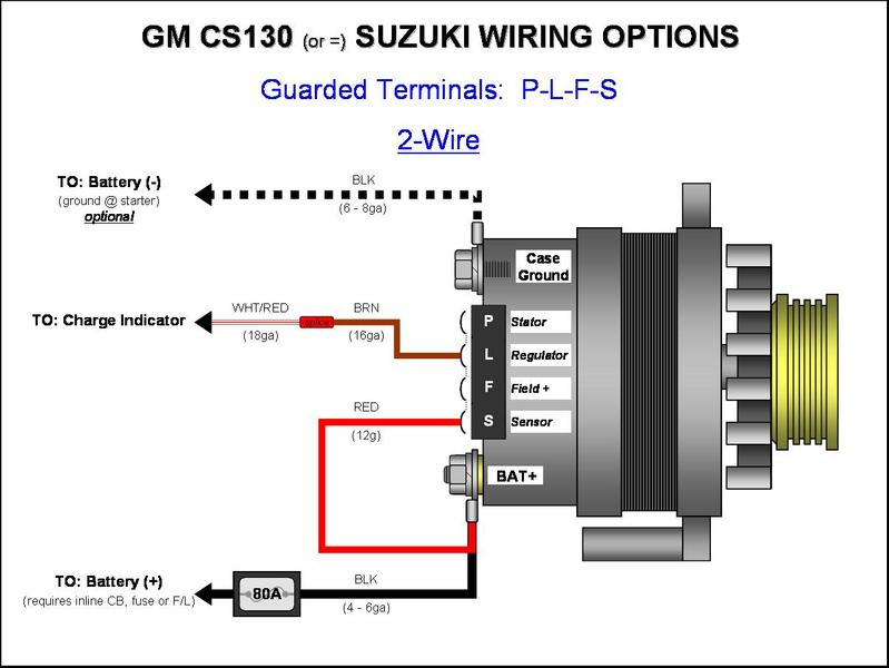 chevy charging system wiring diagram alternator charge light wiring diagram images wilbo666 toyota gm cs130cs144 alternator wiring plfs 2 wire